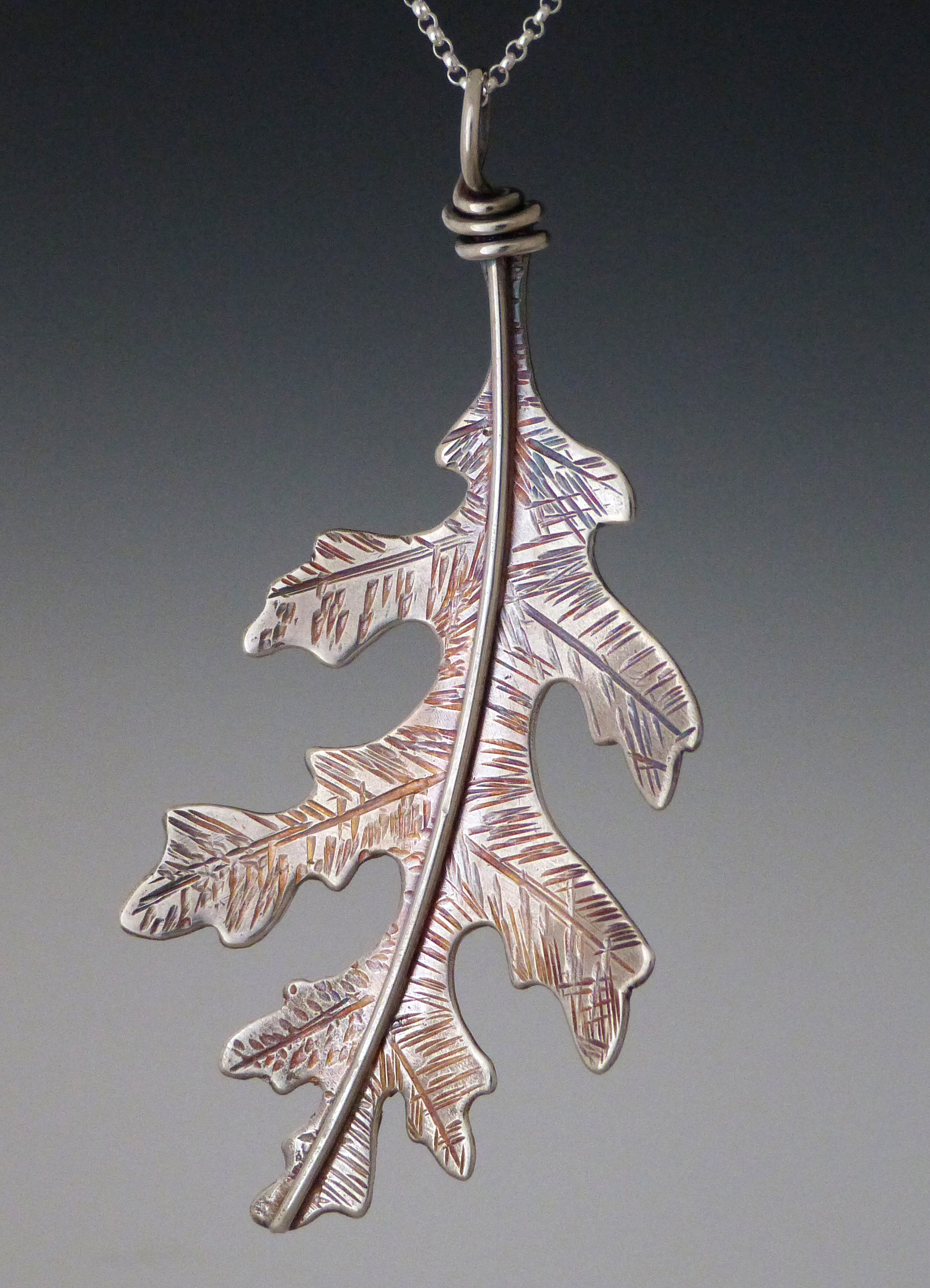 Silver maple leaf pendant aloadofball Image collections